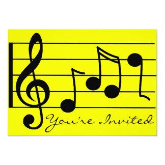 Você é Invited_ Convite 12.7 X 17.78cm