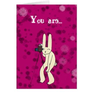 Você é meu cartão da estrela mundial