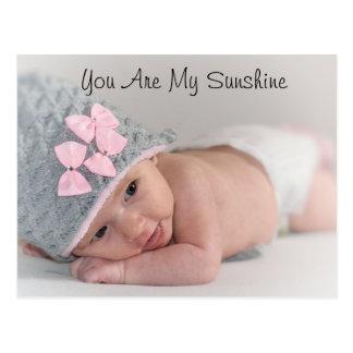 Você é meu cartão da foto da luz do sol