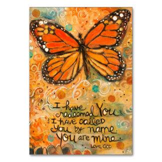"""""""Você é meu"""" cartão da oração de Isaiah com"""