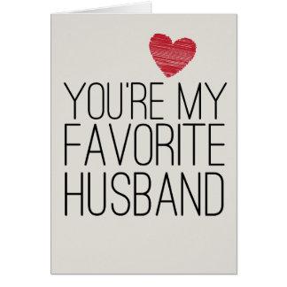 Você é meu cartão engraçado do amor do marido
