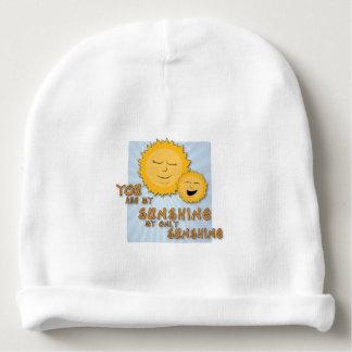 Você é meu chapéu do bebê da luz do sol gorro para bebê