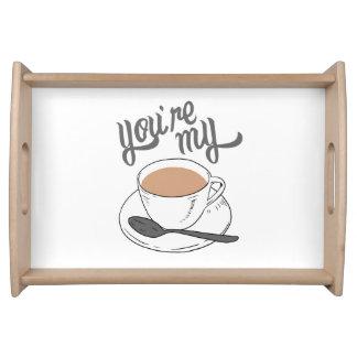 Você é meu copo da bandeja de chá