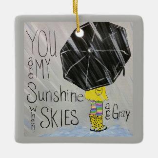 Você é meu ornamento da luz do sol