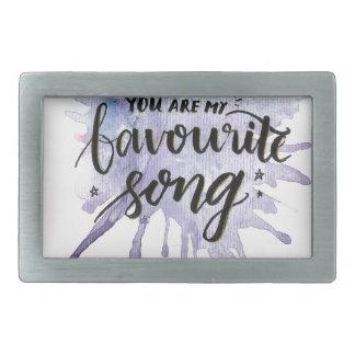 Você é minha canção favorita