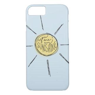 Você é minha capa de telefone da luz do sol