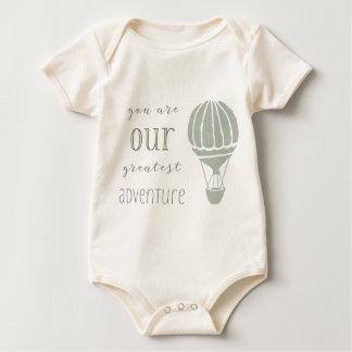 Você é nossa grande aventura body para bebê