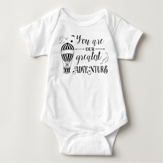 você é nosso grande piec da camisa uma do bebê da