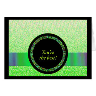 Você é o melhor obrigado você cartões