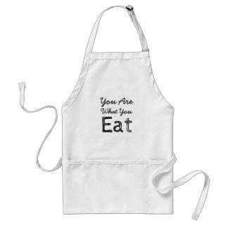 Você é o que você come o avental
