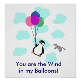 """""""Você é o vento POSTER nos meus balões"""""""