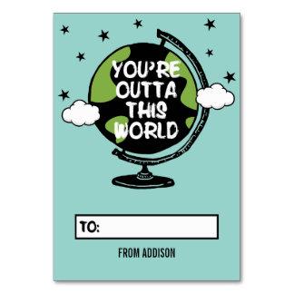 Você é Outta este cartão dos namorados da sala de
