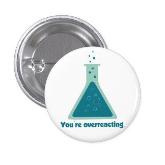 Você é taça Overreacting da ciência da química Boton