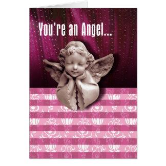 Você é um cartão do anjo