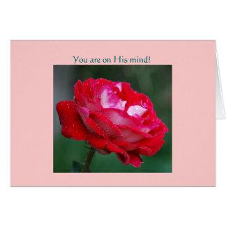 Você está em sua mente! cartão comemorativo