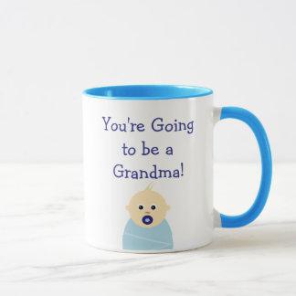 Você está indo ser uma caneca de café da avó