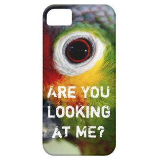 VOCÊ está olhando-me? Caso engraçado do iPhone 5 Capa Para iPhone 5