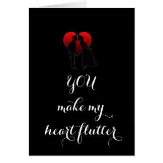 VOCÊ FAZ MEU CARTÃO DO CORAÇÃO FLUTTER=LOVE PARA