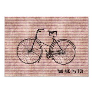 Você mais a bicicleta iguala o rosa antigo feliz