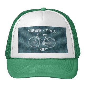 Você mais a bicicleta iguala o verde azul antigo f bones