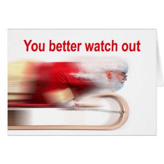 Você melhora olha para fora o cartão de Natal