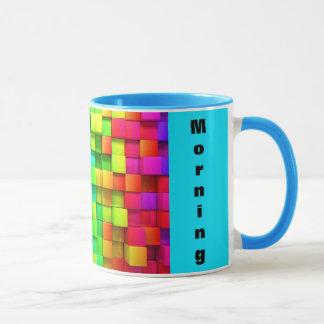 VOCÊ muda o copo de chá da caneca de café da manhã