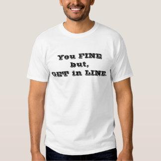 Você multa mas,… tshirts