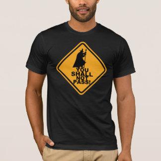VOCÊ NÃO PASSARÁ! T do humor do jogo Camiseta