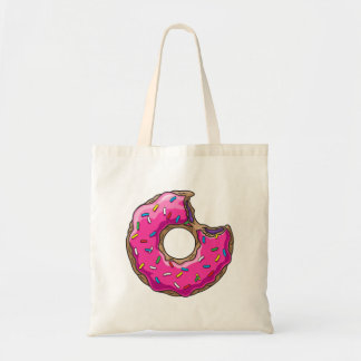 Você não pode comprar a felicidade mas a rosquinha bolsa tote