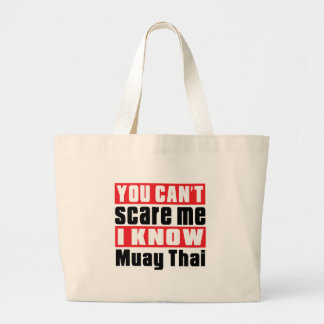 Você não pode susto mim mim saber tailandês de sacola tote jumbo