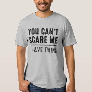 Você não pode susto mim, mim tem o t-shirt dos