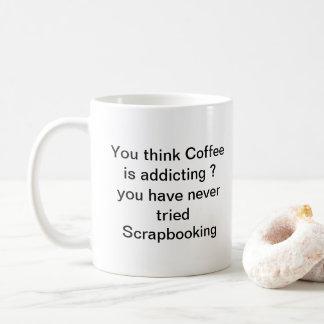 Você nunca tentou a caneca de Scarpbooking