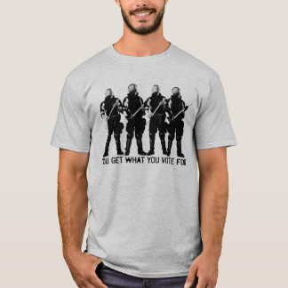 Você obtem o que você vota para a camisa