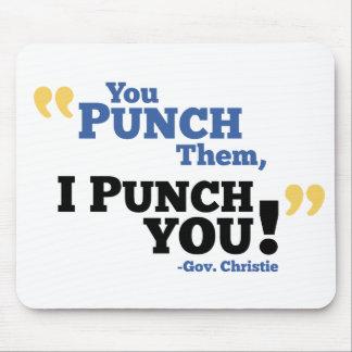 Você perfura-os, mim perfura-o! mouse pad