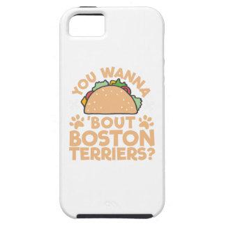 Você quer aos terrier de Boston do ataque do Taco? Capa Para iPhone 5