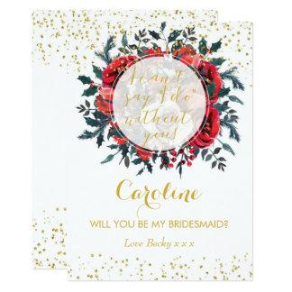 Você será meu brilho do Natal do cartão da dama de