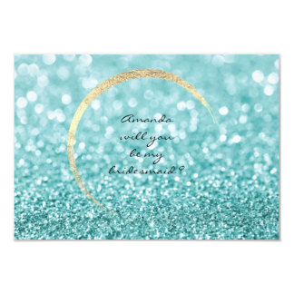 Você será meu brilho VIP do ouro de Tiffany da Convite 8.89 X 12.7cm