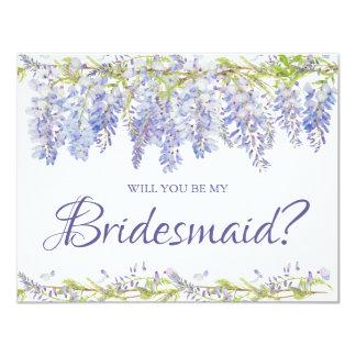 Você será meu cartão da dama de honra da dama de