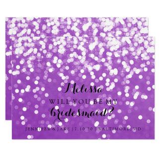 Você será meu cartão da dama de honra - Sparkling