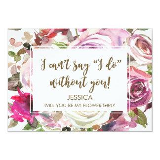 Você será meu cartão do florista personalizado