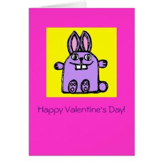"""""""Você será meu coelho de Hunny? """"- O cartão dos"""