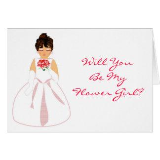 """Você será meu florista mim"" - customizável Cartao"