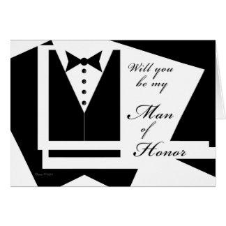 Você será meu homem do cartão da honra