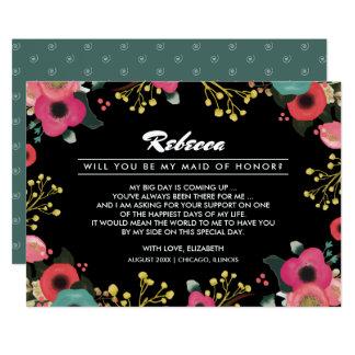Você será minha madrinha de casamento? Cartões do