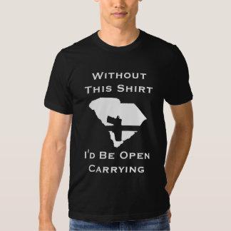 Você seria carregando aberto, sem esta camisa t-shirt