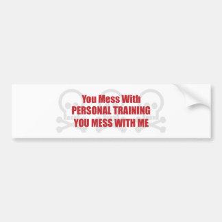 Você suja com treinamento que pessoal você suja co adesivos