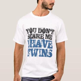 Você susto mim eu não tenho a camiseta dos gêmeos