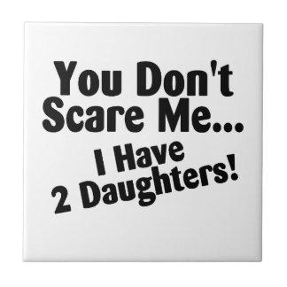 Você susto mim eu não tenho duas filhas
