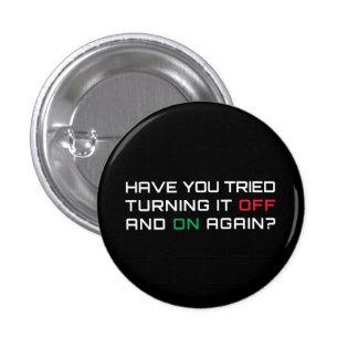 Você tentou desligá-lo e sobre outra vez botons