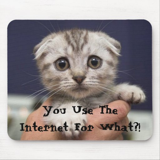 Você usa o Internet para que?! Mousepad